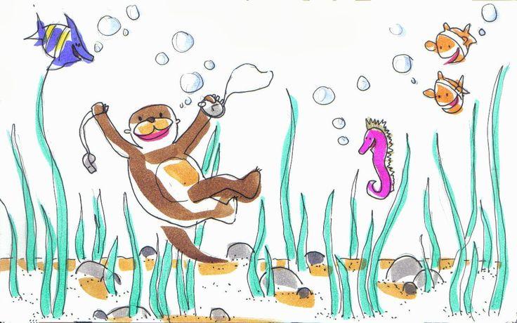 En un enorme río de América del Norte vivía una nutria que era la número uno en natación. Pero en su última competición se había g...