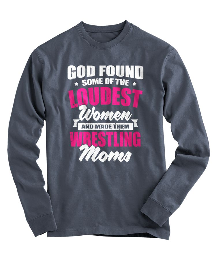 """Pick your favorite style: Are you a proud mommy who's an even prouder Wrestling Mom? Now you can show it with this Super Cute """"Loudest Women"""" design! - Guaranteed safe and secure checkout via Amazon /"""