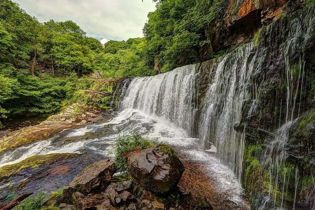 Sgwd Isaf Clun-gwyn - Brecon Beacons Waterfalls | Flickr - Photo Sharing!