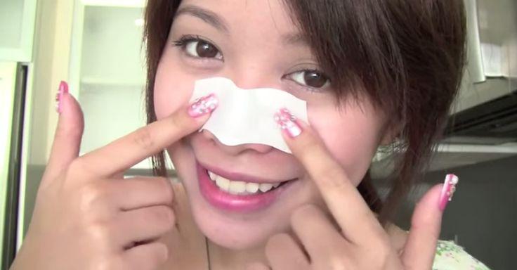 tiras para quitar los poros de la nariz