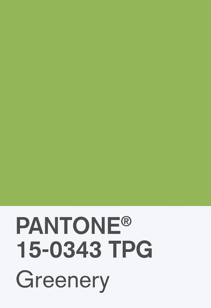 Pantone colour of the year 2017, Greenery, has political (and yellow) undertones.
