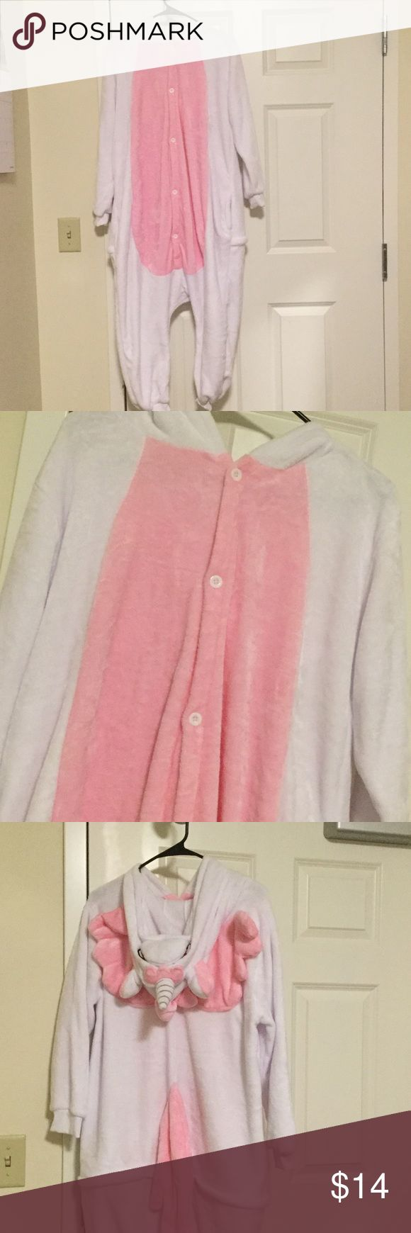 A pink unicorn costume for Halloween! Big sale🔴🔴 It's worn once only. It's from Amazon. Comfortable materials and you could wear it as pajama! Perfect for dressing up Halloween! Other