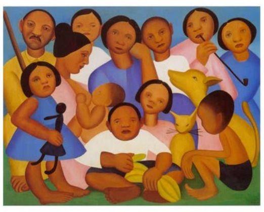 Tarsila do Amaral (Capivari, São Paulo, 1886 - São Paulo, 1973) è stata una pittrice brasiliana - centro cultural tina modotti caracas