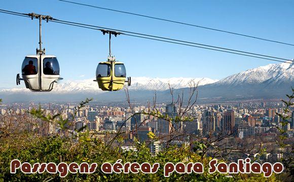 Viagens promocionais para Santiago a partir de R$ 533 #passagens #viagem #santiago