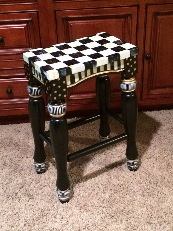 Best 20 Hand Painted Stools Ideas On Pinterest Painted