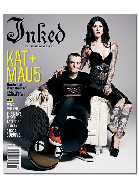 Inked Magazine: Kat & MAU5 - January 2013