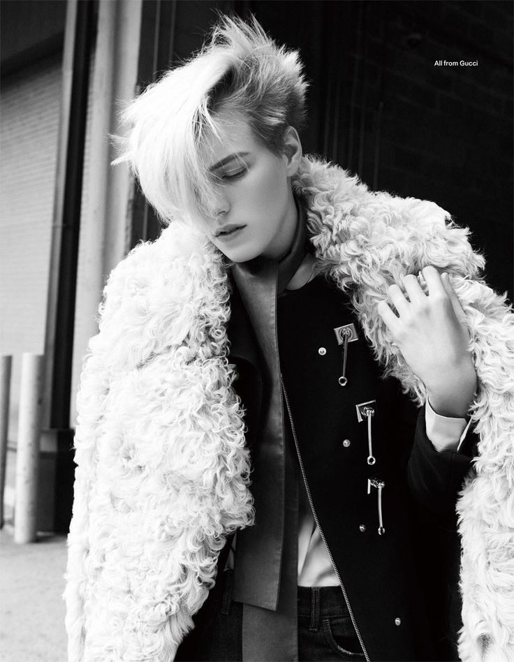visual optimism; fashion editorials, shows, campaigns & more!: winter daze: erika linder by nagi sakai for harper's bazaar china november 2014