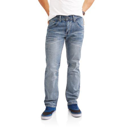 Faded Glory Men's Embellished Denim (Blue) Jeans, Size: 30 x 30