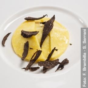 Due millimetri di polenta - Chef Emmanuel Renaut