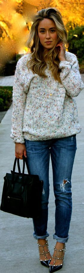 #Cozy #casual. by A Fashion Love Affair