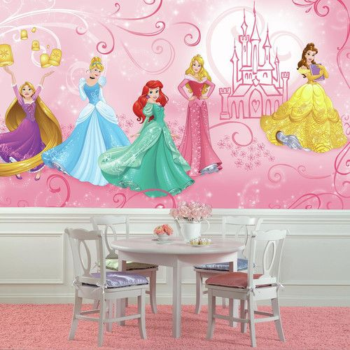 17 best ideas about disney wall murals on pinterest for Disney princess mural asda