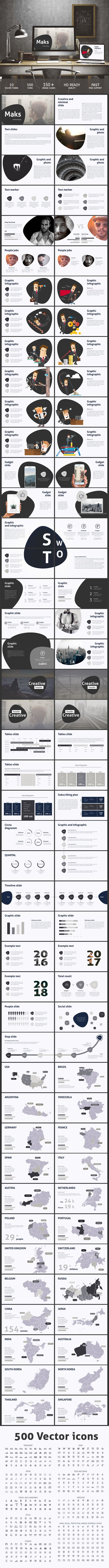 Maks Keynote template  #keynote #key #corporate #ppt • Download ➝ https://graphicriver.net/item/maks-keynote-template/18740282?ref=pxcr