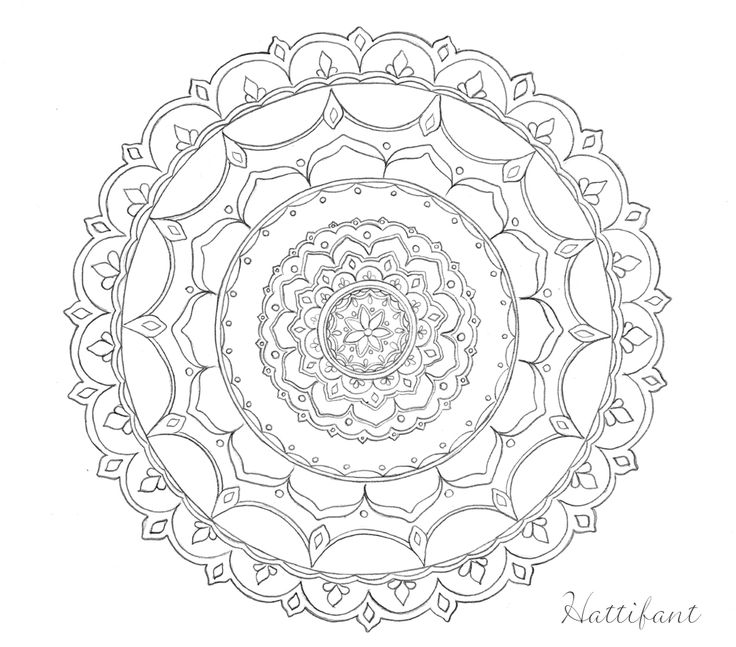 Stress relief with hattifant doodles hattifant adult for Stress relief coloring pages online