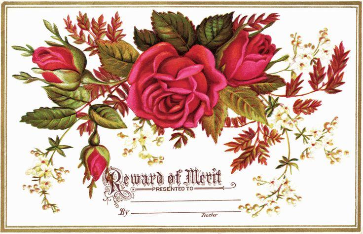Vintage Reward of Merit