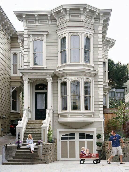 27 besten san francisco ca house bilder auf pinterest viktorianische h user viktorianisch. Black Bedroom Furniture Sets. Home Design Ideas