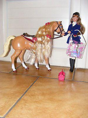Les 25 meilleures id es concernant barbie et son cheval - Jeux de barbie avec son cheval ...