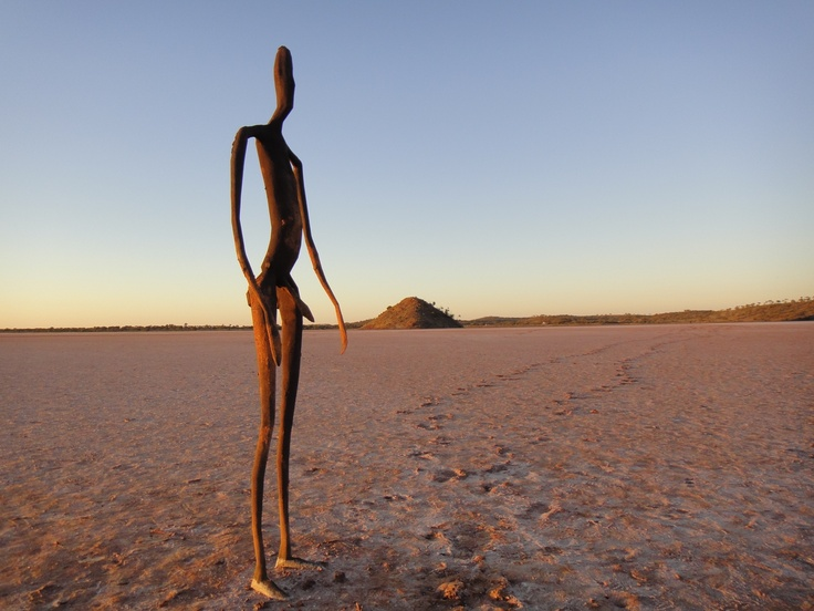 Road trippin at Lake Ballard - Inside Australia - Antony Gormley #Sculptures - Attractions - #Tourism #WesternAustralia  .