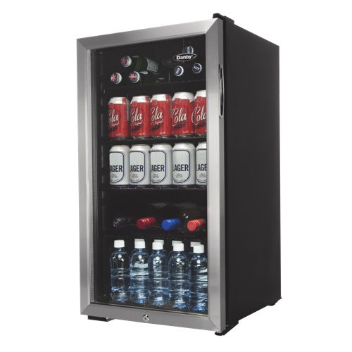 Danby 3.3 Cu.Ft. Bar Fridge (DBC120BLS) - Black #TurnSummerOn