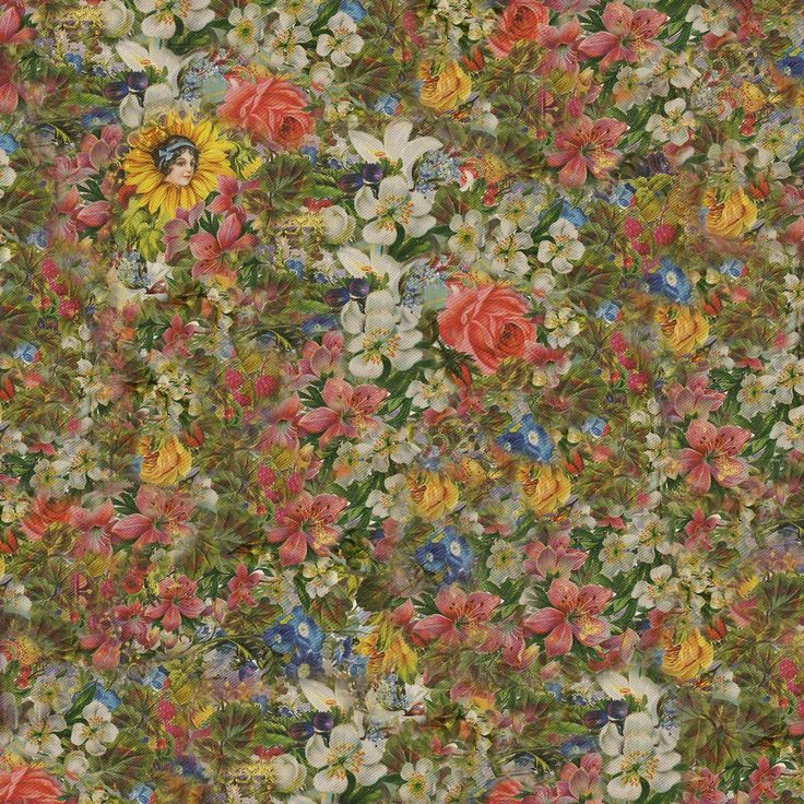 Pretty.Odd. flowers!