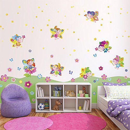 Vinilo decorativo de hadas para habitaci n infantil http for Sticker habitacion infantil