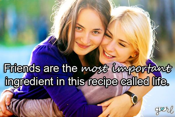 Best Friend Quotes About Friendship: Cute, Sweet Sayings For Girls | Gurl.com