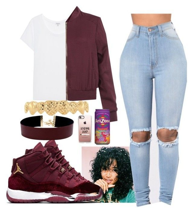 """Untitled #106"" by bigdaddy-ni ❤ liked on Polyvore featuring NIKE, Vanessa Mooney, Splendid, New Look and Casetify"