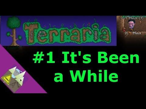 Terraria #1 It's Been a While | Let's play and review games