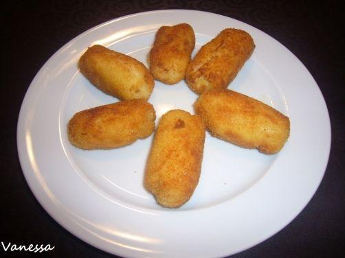 Croquetas de bacalao para #Mycook http://www.mycook.es/receta/croquetas-de-bacalao/