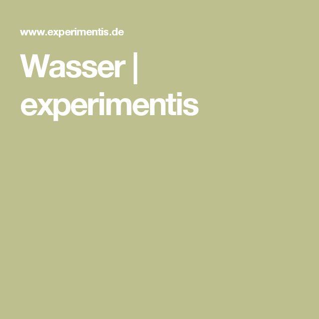 Wasser | experimentis