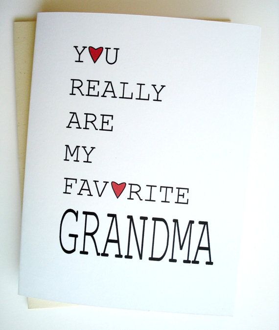 If you have a different name for grandma, let us know and we will change the…
