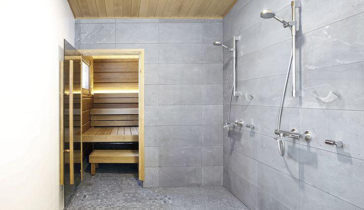 #sauna #bathroom #kylpyhuone #soapstone #vuolukivi #naturalstone  #luonnonkivi #shower