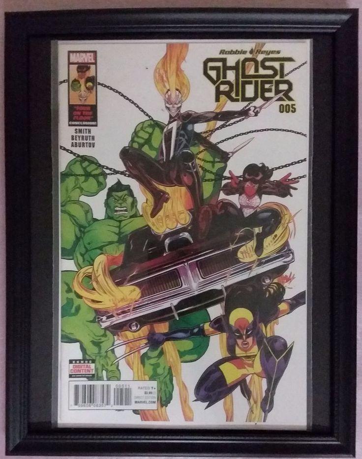 Marvel Comics FRAMED Ghost Rider #5 weapon-x Hulk Comic Book