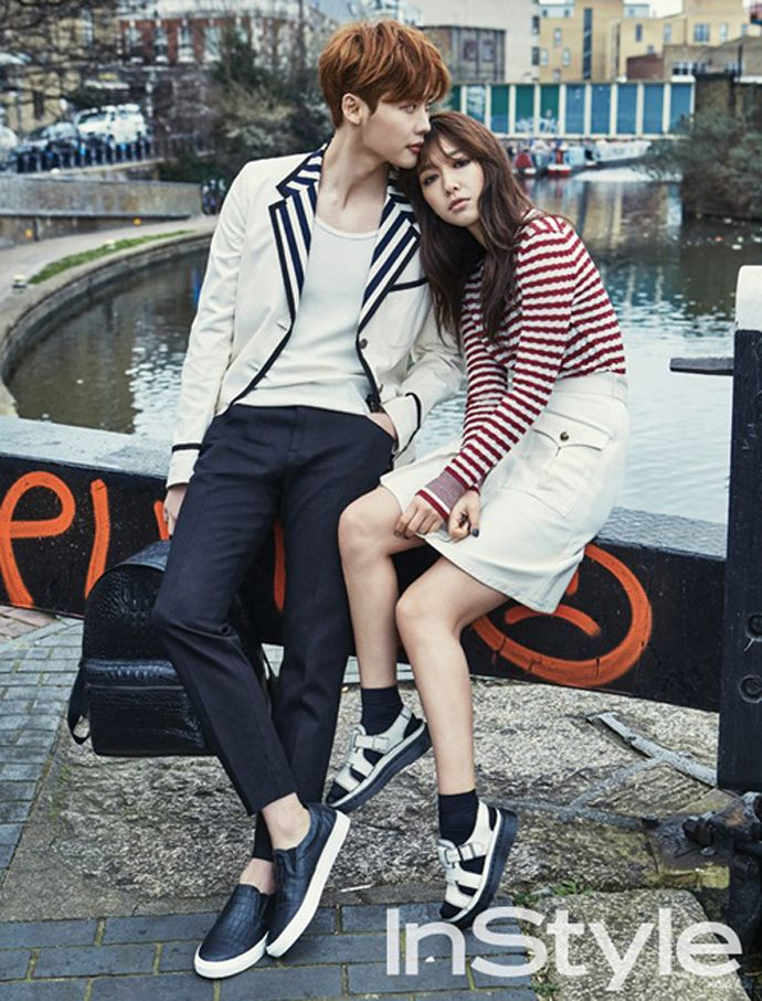 Park Shin Hye and Lee Jong Suk reunite in London for InStyle Korea's April issue