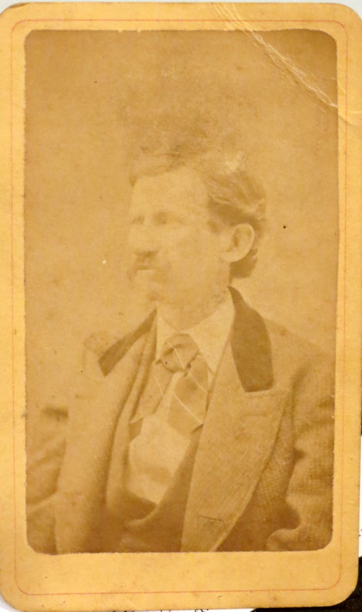 Henry B. Dillard, 33rd Alabama Infantry. Wounded at Franklin.