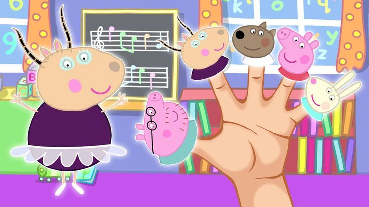 """Pepa Pig Ballet Play Finger Family / Nursery Rhymes Lyrics and More. """"Peppa Pig"""" follows the adventures of the titular, anthropomorphic animal along with her..."""