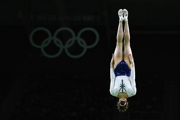 Team GB's first Olympic trampolining medal, Silver for Bryony Page at Rio 2016