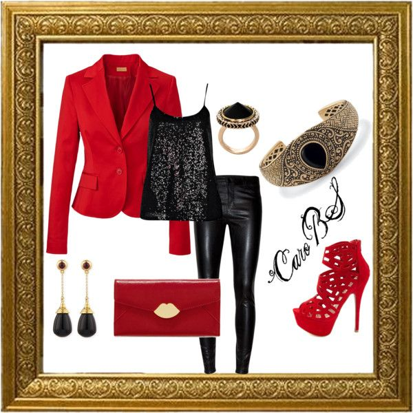"""""""Red wine"""" by carobs on Polyvore"""