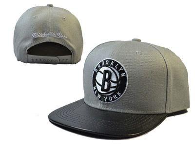 NBA Brooklyn Nets Adjustable Snapback Hat LH 2157