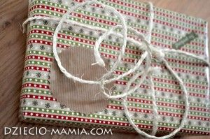 christmas gift, packaging, dziecio-mamia.com