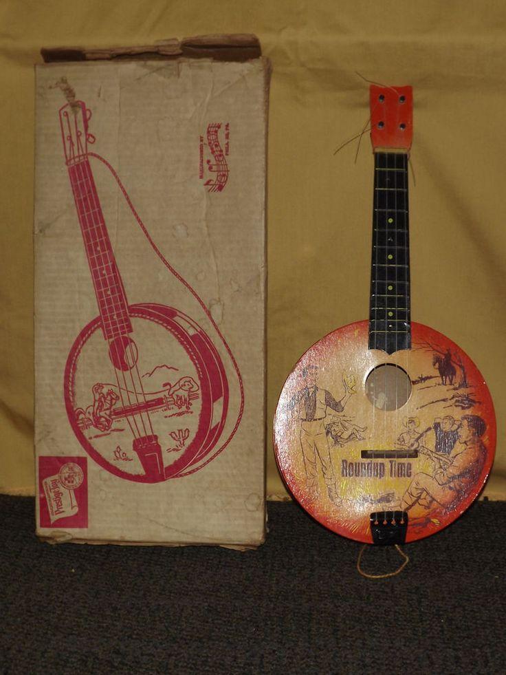 vintage cowboy guitar dog - photo #3