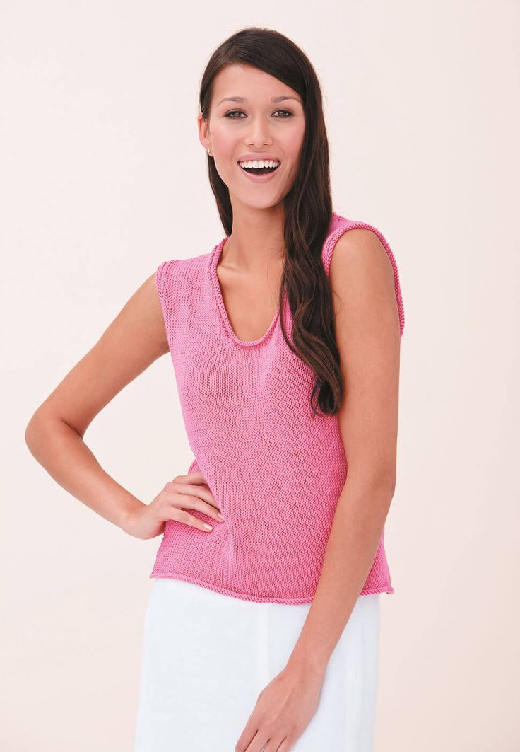 Easy to knit ladies top