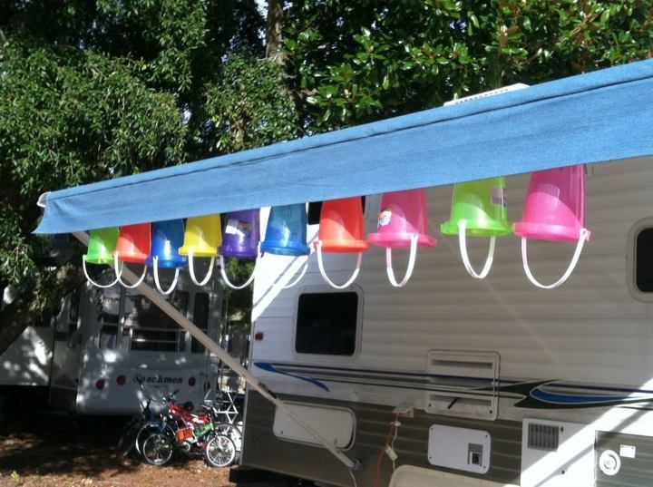 Bucket Lights For The Camper Camping Stuff Pinterest