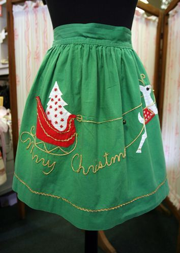 fashionable christmas apron - Google Search