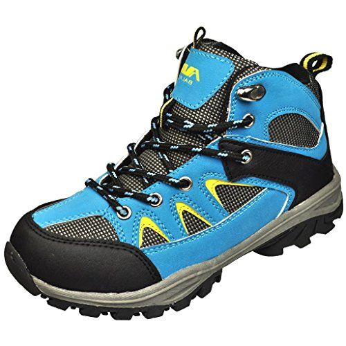 awesome Air Balance Boys Hiking Boots -Black/Blue