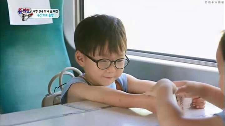 Playing with minguk
