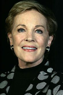 I love Julie Andrews--her voice, her acting, & the way she seems kind. I LOVE that she starred in Victor/Victoria--one of my 1st realizations that other lesbian/gay people existed. Loved her in Mary Poppins & The Sound of Music. She played strong-women roles, has written some of my fae books (especially Mandy) which inspired & comforted me, & seemed kind. She made me believe there are good people in the world when I was a kid being abused and there was no one. -Cheryl Rainfield