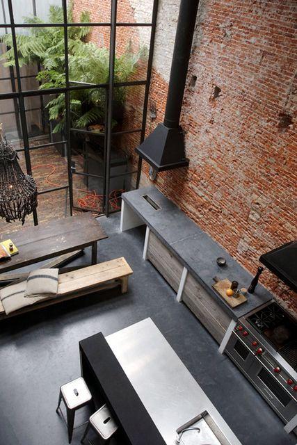 Die besten 25+ Lagerhalle loft Ideen auf Pinterest Loft-haus - industrial style moebel accessoires haus