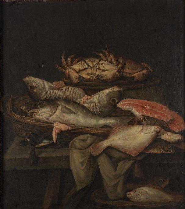 Still Life of Fish Abraham Hendricksz van Beyeren Dutch, ca. 1620-1690 Still Life of Fish, ca. 1655