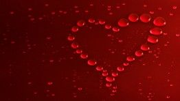red bubbles heart uhd pink wallpaper