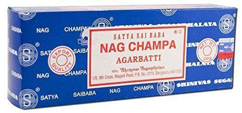 Sai Baba Nag Champa Incense Handmade Agarbatti Premium Quality Incense 250 G.  #SatyaSaiBabaNagChampa